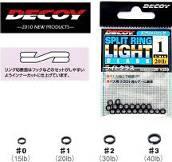 Заводные кольца DECOY - SPLIT RING LIGHT CLASS