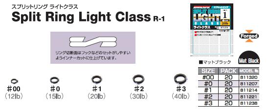 Заводные кольца DECOY - SPLIT RING LIGHT CLASS.