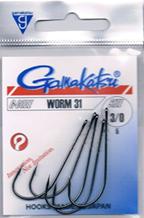Крючок Gamakatsu Worm 31